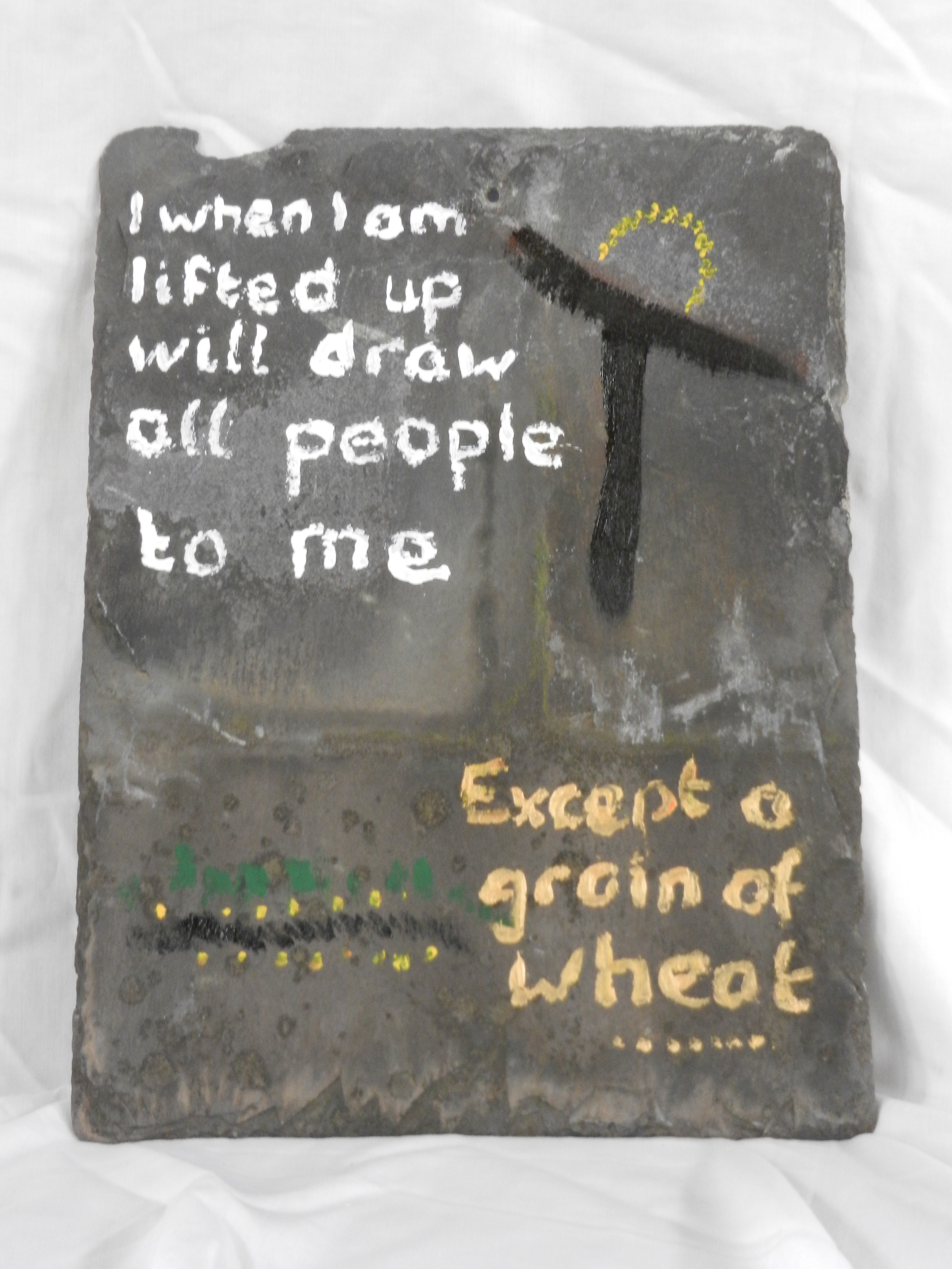 John 12:24: Unless a grain of wheat falls to the ground