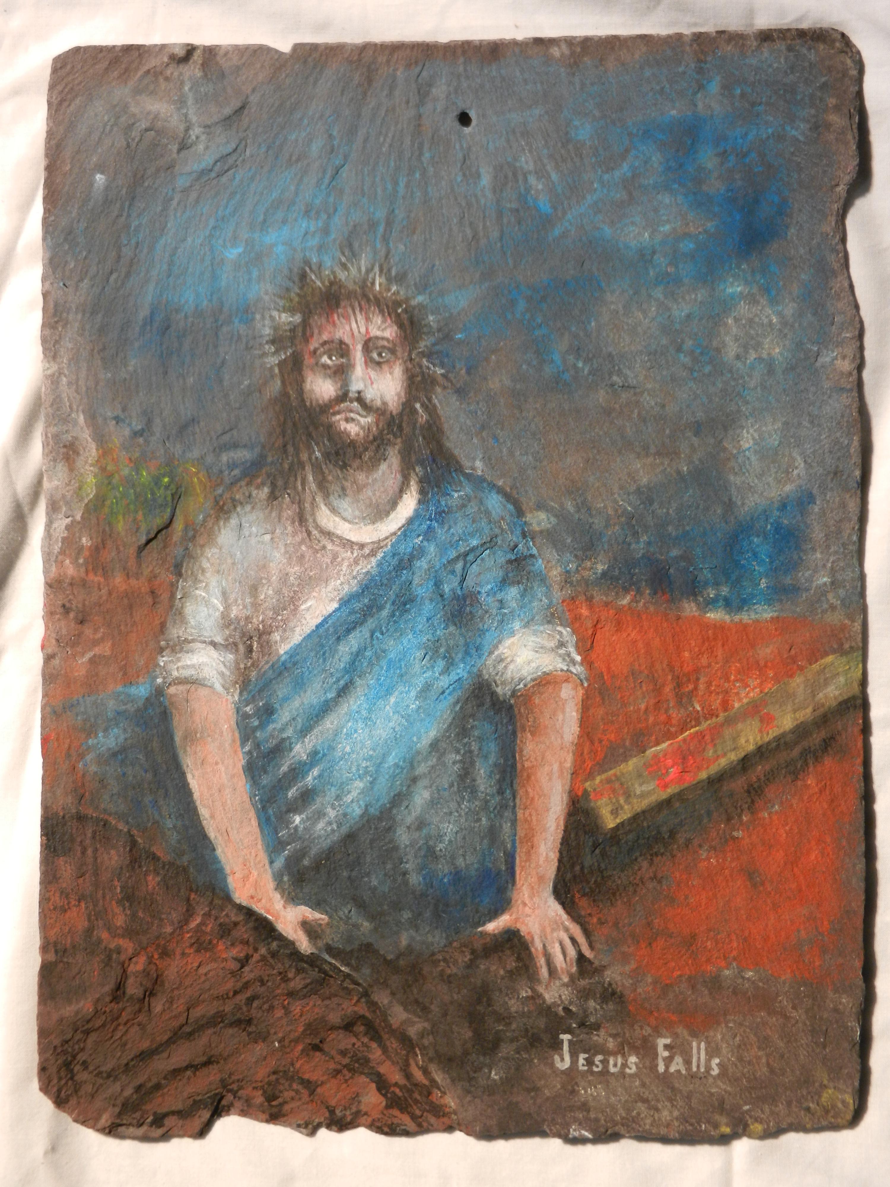 Good Friday: Jesus Falls
